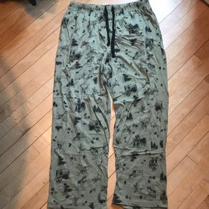 Other - Forest Green Woods/Forest Animal Pajama Pants